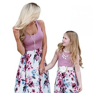 Mommy and Me Matching Dress Set